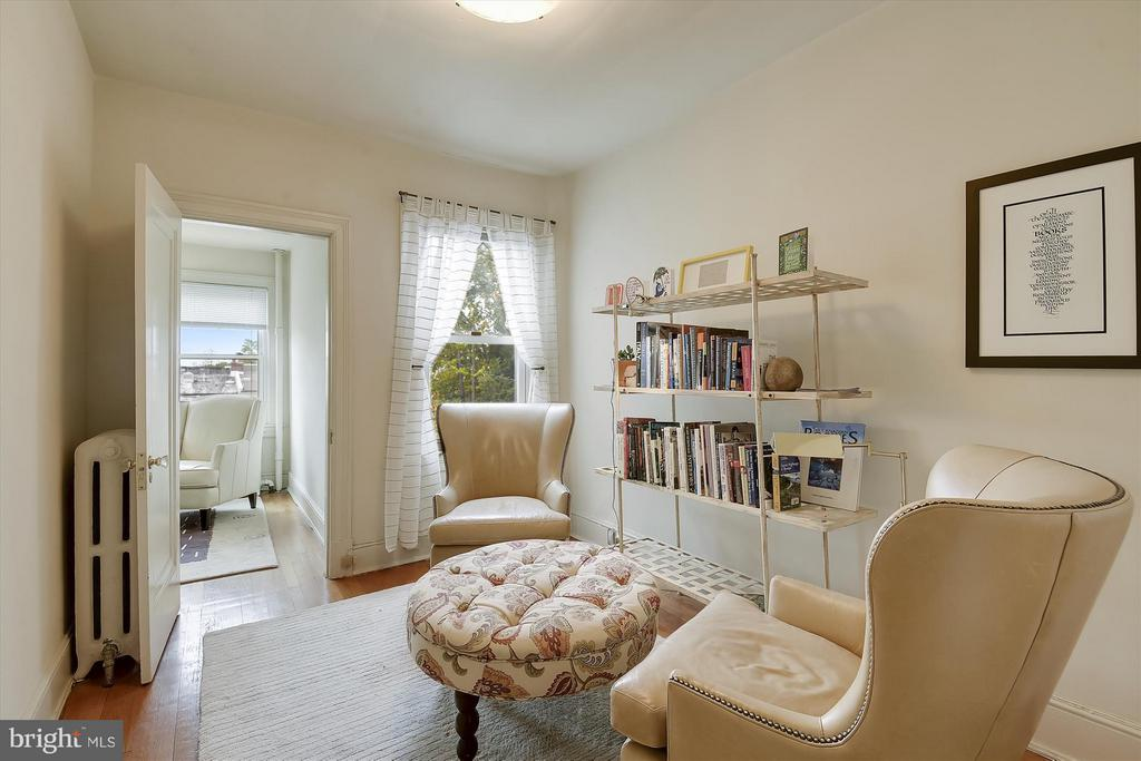 Bedroom 3, Currently a Reading Room - 1622 ALLISON ST NW, WASHINGTON
