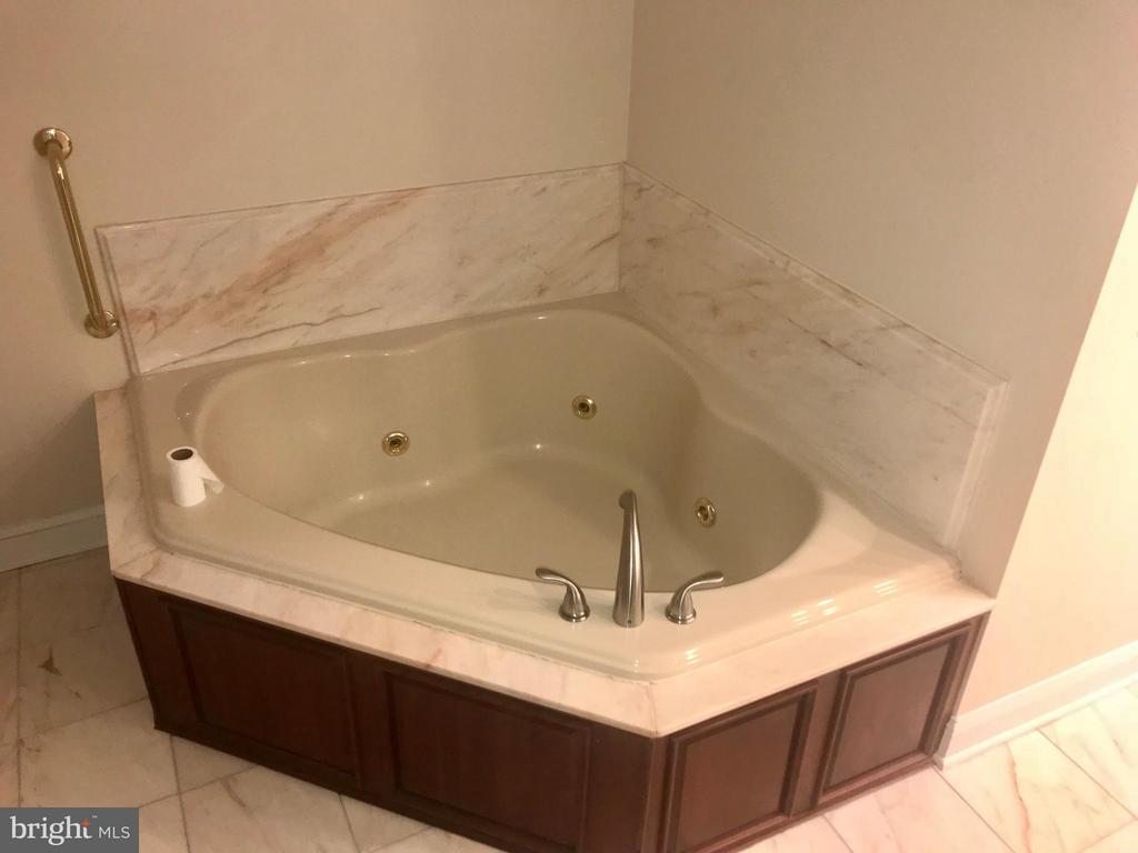 Jacuzzi tub in Master Bath - 9305 MERCY HOLLOW LN, ROCKVILLE