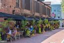 Outdoor dining at many restaurants - 508 PRINCE ST, ALEXANDRIA