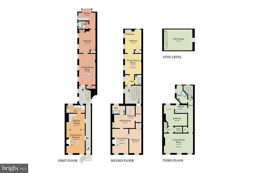 As Currently Constructed Floor Plan - 508 PRINCE ST, ALEXANDRIA