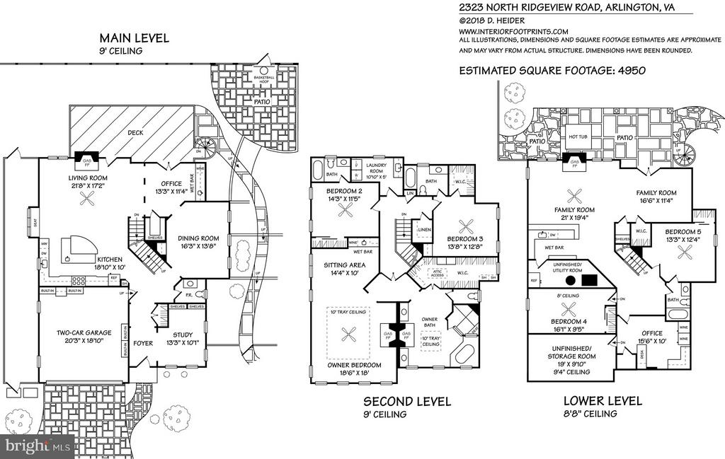 Floorplan - 2323 N RIDGEVIEW RD, ARLINGTON