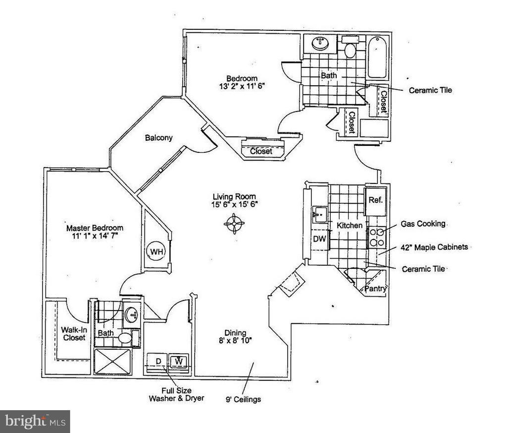 Floor Plan - 12001 MARKET ST #272, RESTON