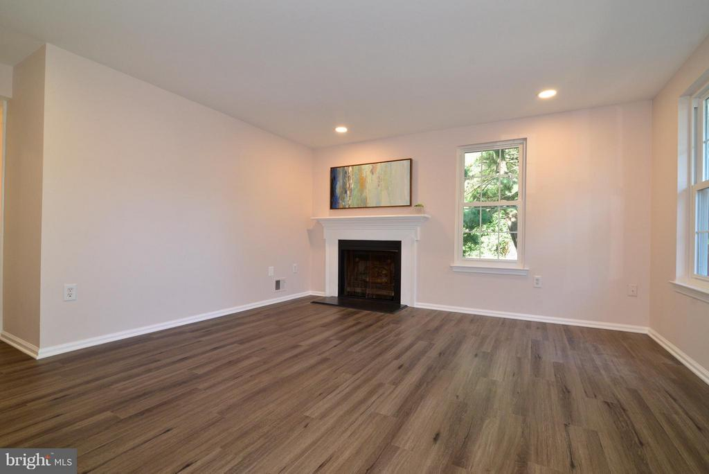 Living Rm has a fireplace and new recessed lights! - 30 DORRELL CT, STERLING