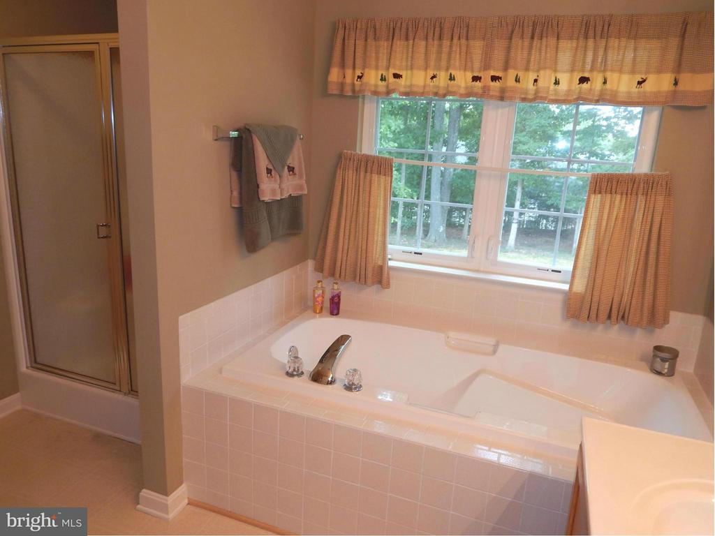 Luxury Bath w/Soaking Tub & over-sized Shower - 6831 BUCK LN, FREDERICKSBURG