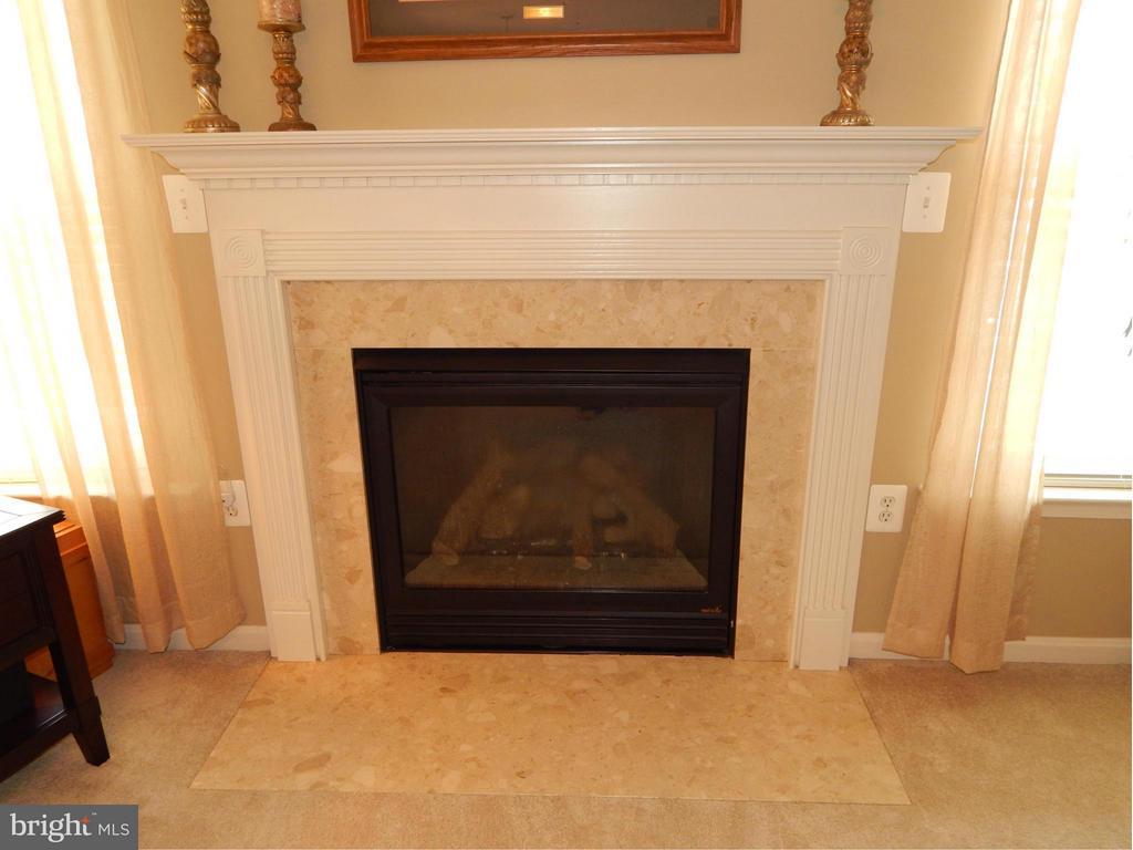 Gas Fireplace in Family Room - 6831 BUCK LN, FREDERICKSBURG