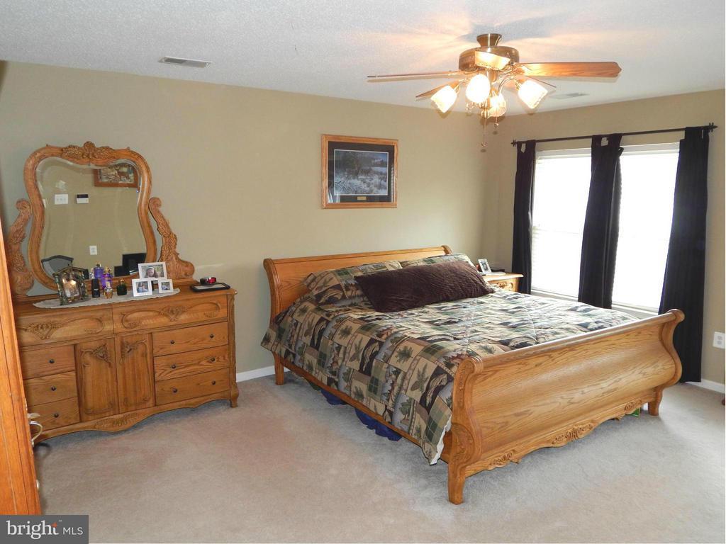 Owner's Suite has 2 Walk-in Closets & Ceiling Fan - 6831 BUCK LN, FREDERICKSBURG