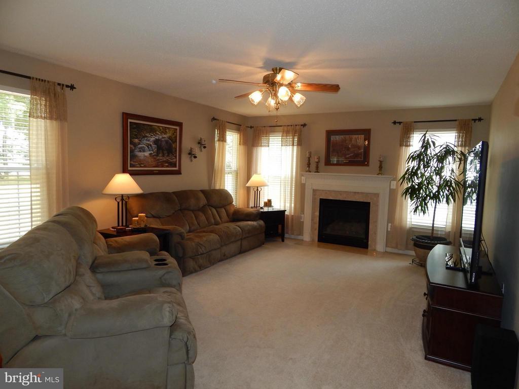 Family Room w/Gas Fireplace - 6831 BUCK LN, FREDERICKSBURG
