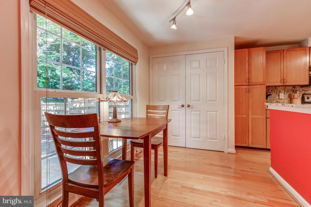 Generous eating space in Kitchen - 11749 ARBOR GLEN WAY, RESTON