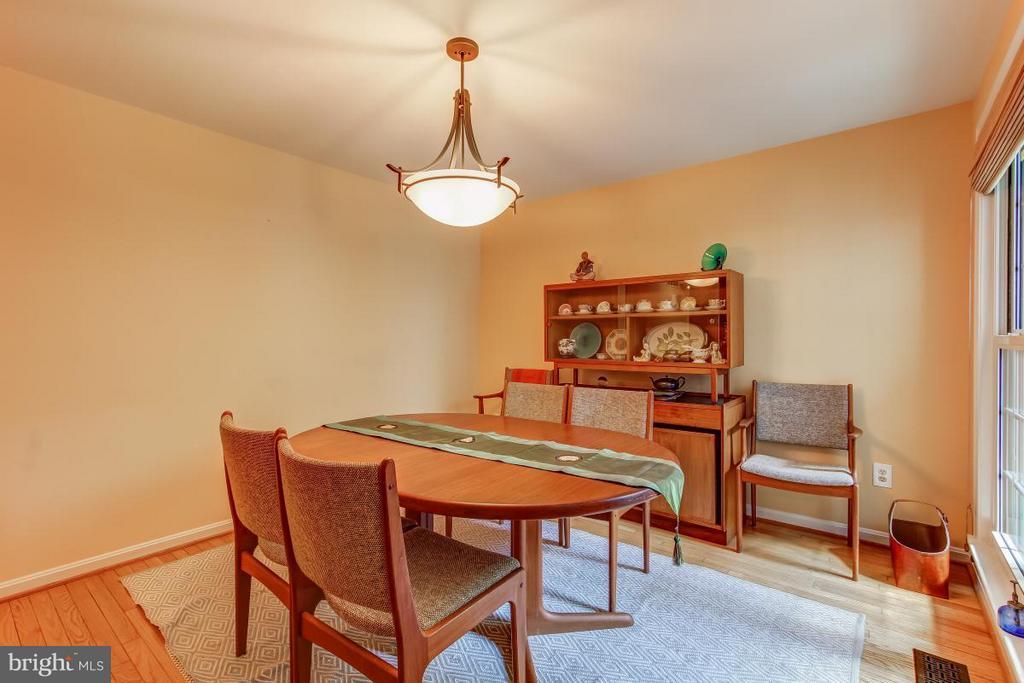 Bright & spacious Dining Room - 11749 ARBOR GLEN WAY, RESTON