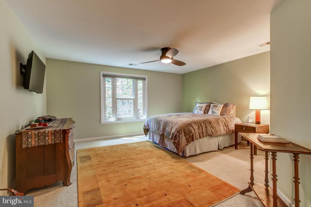 Generously sized Master Suite with ceiling fan - 11749 ARBOR GLEN WAY, RESTON