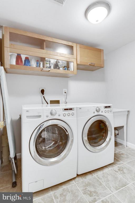 Laundry room with Washer and Dryer - 11925 WAPLES MILL RD, OAKTON