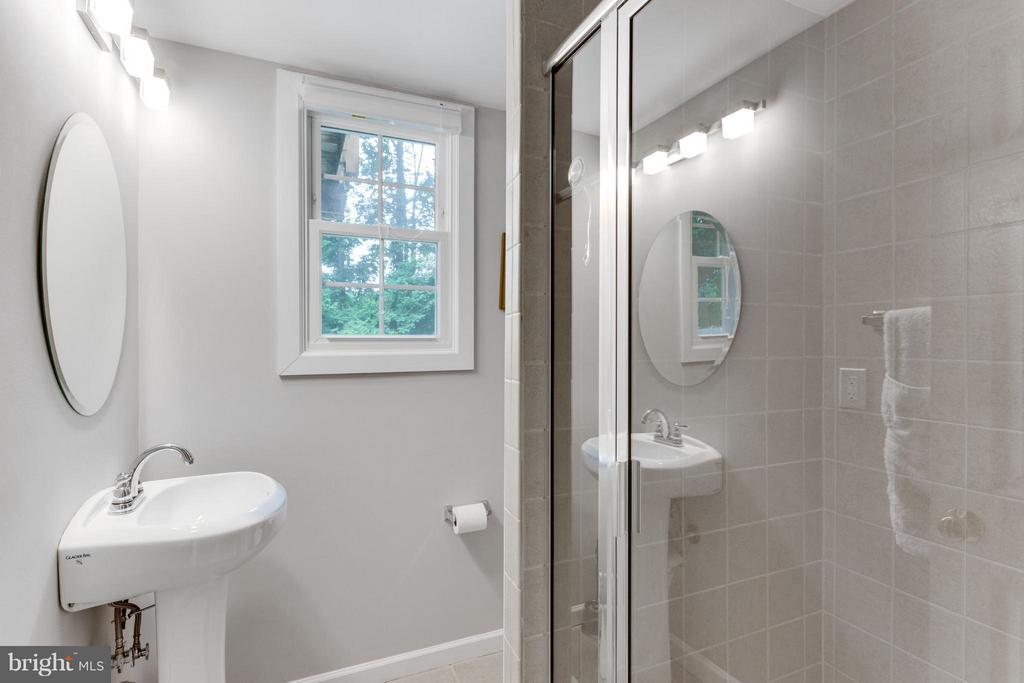 Basement has a full bath updated - 11925 WAPLES MILL RD, OAKTON