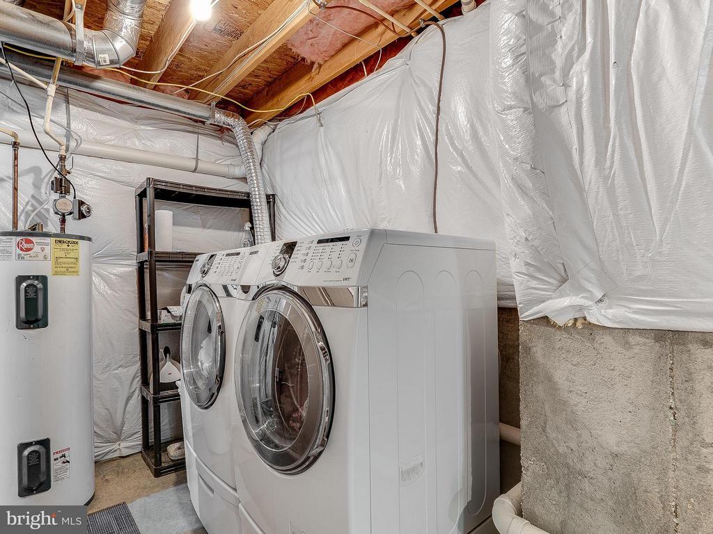 Basement Laundry Room - 4406 BIRCHTREE LN, TEMPLE HILLS
