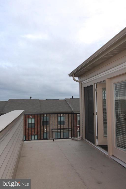 1 of 2 balconies on 4th level - 23426 ADAGIO TER, ASHBURN