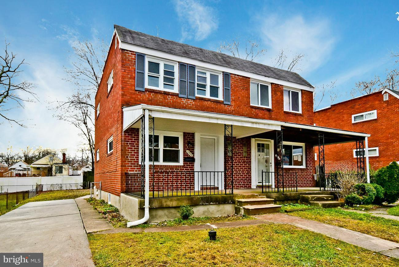Photo of home for sale at 5415 Seward Avenue, Baltimore MD