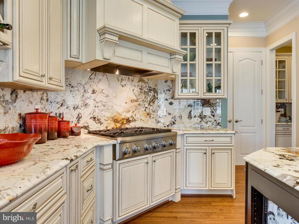 Beautiful granite enhances the charm of the KT - 1355 VERRIER CT, VIENNA