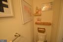 Main level half bath - 17137 SEA SKIFF WAY, DUMFRIES