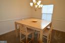 Dining Room - 17137 SEA SKIFF WAY, DUMFRIES