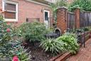 Private garden - 2626 FAIRFAX DR, ARLINGTON