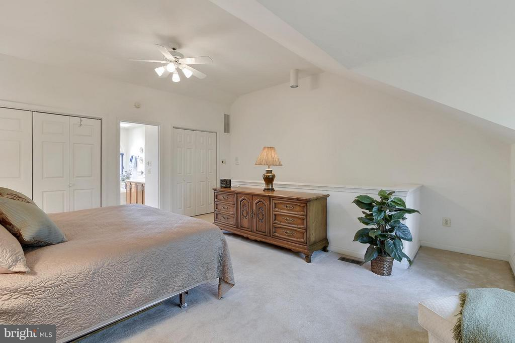 Spacious Master Suite. High ceilings. - 2626 FAIRFAX DR, ARLINGTON