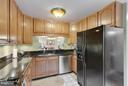 Kitchen with pass through to Dining Room - 2626 FAIRFAX DR, ARLINGTON