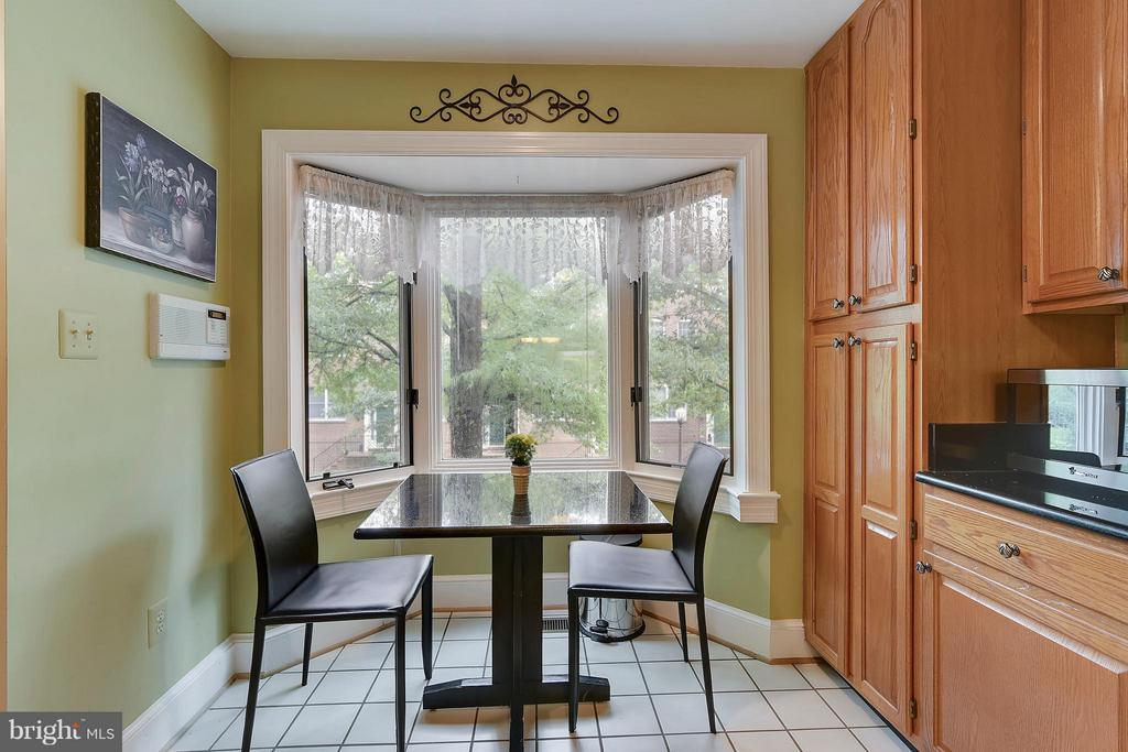 Eat-in kitchen. Sunny view. - 2626 FAIRFAX DR, ARLINGTON