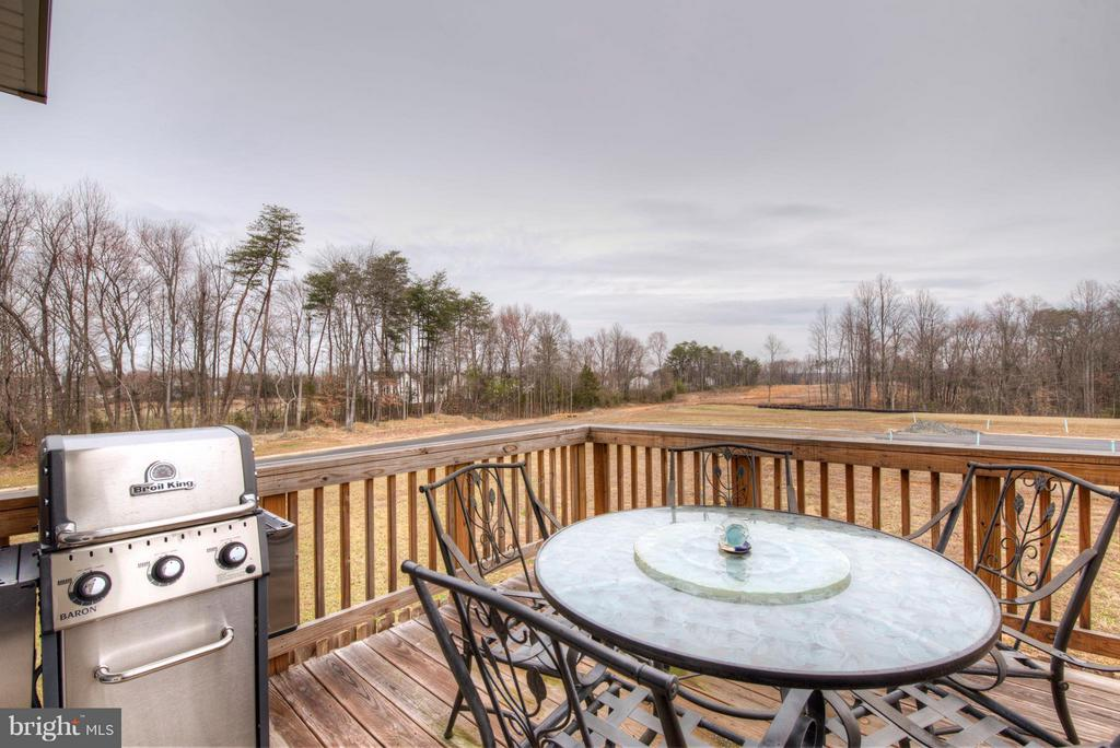 Deck with Gas Line for the Grill - 2345 DRAKE LN, FREDERICKSBURG