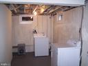 laundry area - 12215 JUDSON RD, SILVER SPRING