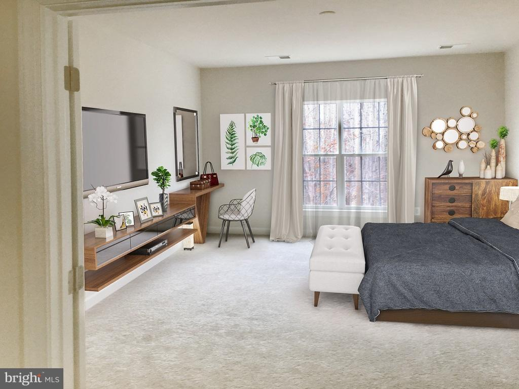 Bedroom (Master) - 0 HICKORY FALLS CT #C, WOODBRIDGE