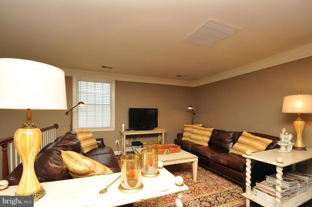 Loft with Hardwood Fl Overlooking the family room - 19849 BETHPAGE CT, ASHBURN