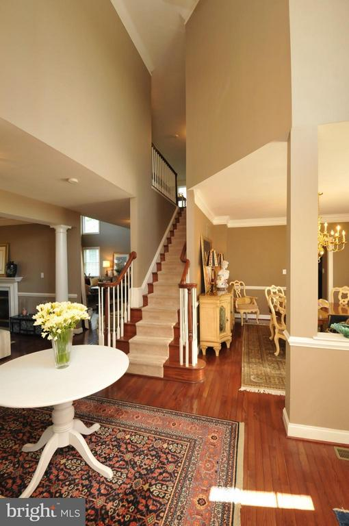 Welcoming tow story Foyer - 19849 BETHPAGE CT, ASHBURN