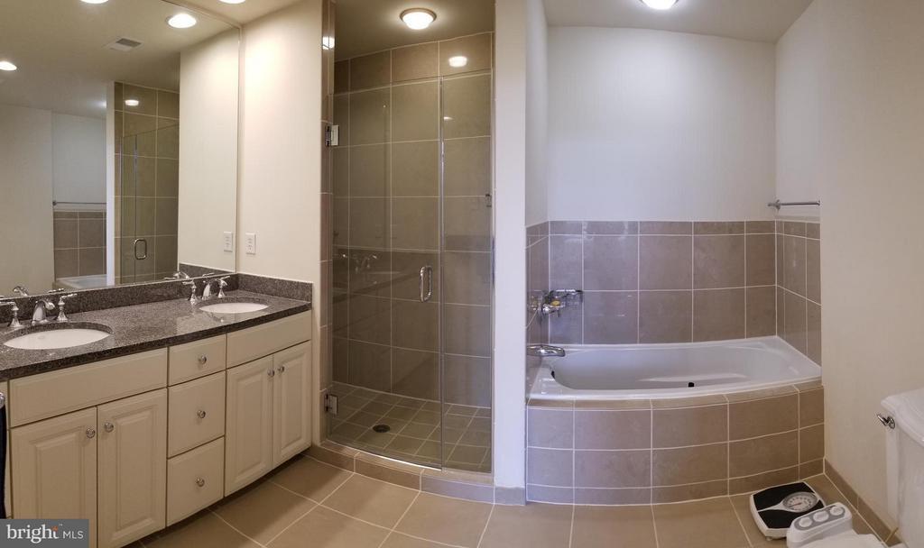 Spacious Master Bath with Double Vanity - 3625 10TH ST N #401, ARLINGTON