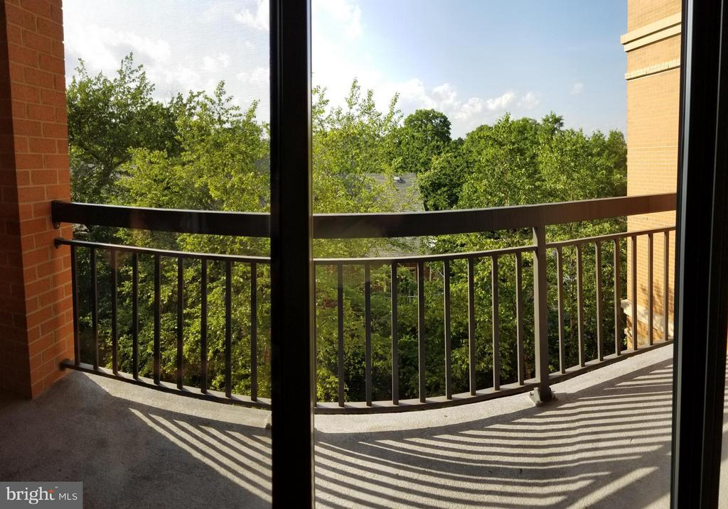 Balcony with Great View - 3625 10TH ST N #401, ARLINGTON