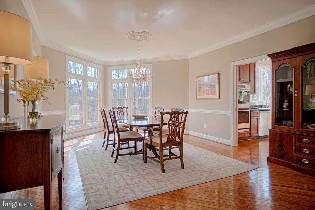 Great corner window with views of nature - 40577 BLACK GOLD PL, LEESBURG
