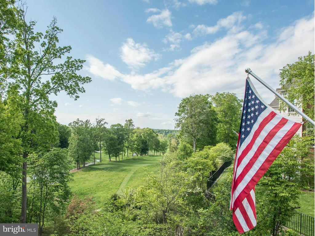View off Deck of Trump Golf Course & Potomac River - 20293 WATER MARK PL, STERLING