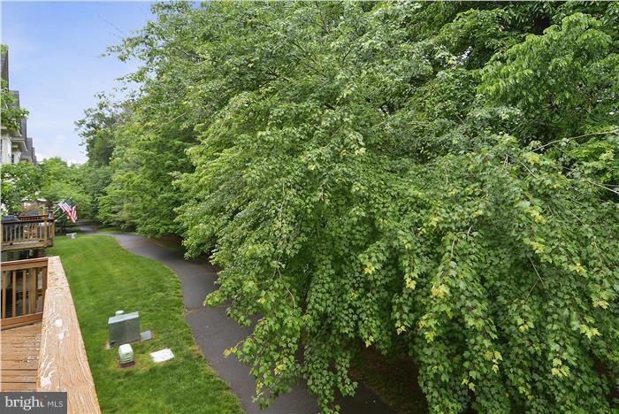 Wooded view - 47806 SCOTSBOROUGH SQ, POTOMAC FALLS