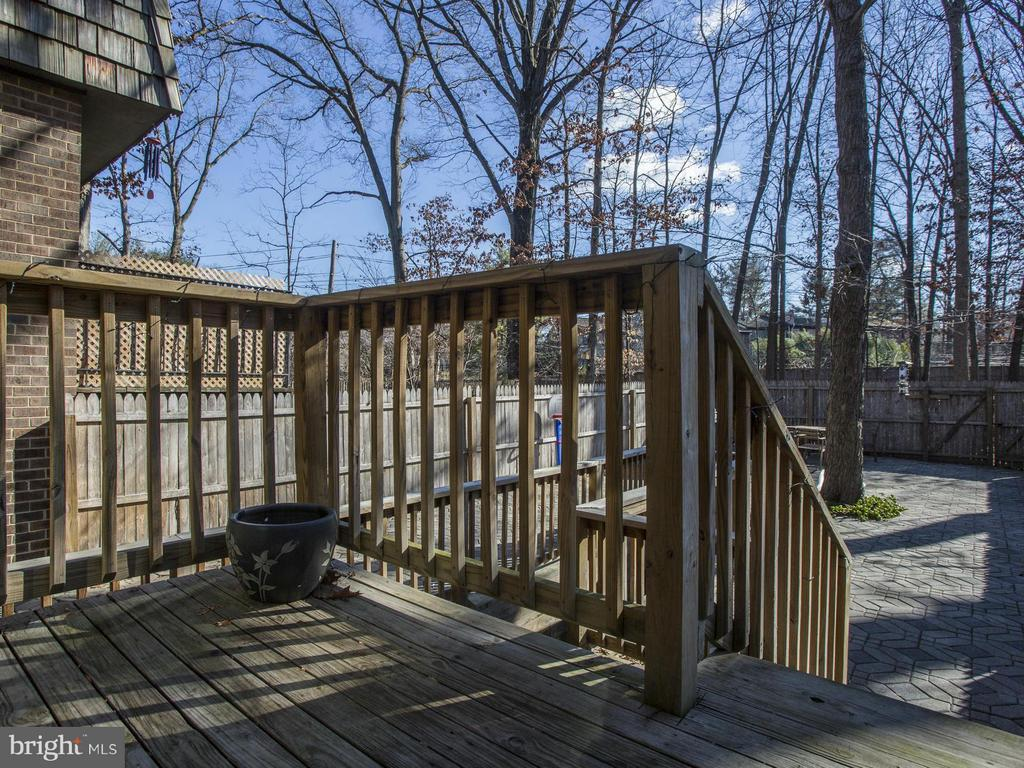 Exterior Deck - 7944 INVERNESS RIDGE RD, POTOMAC