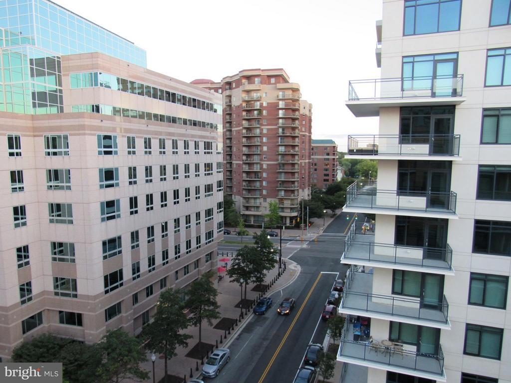 Nice view from Balcony #1 towards Metro - 3625 10TH ST N #803, ARLINGTON