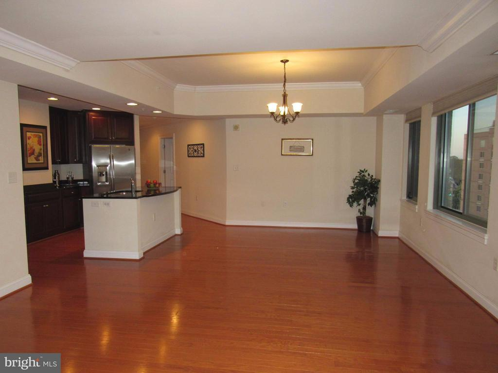Living and Dining area - 3625 10TH ST N #803, ARLINGTON