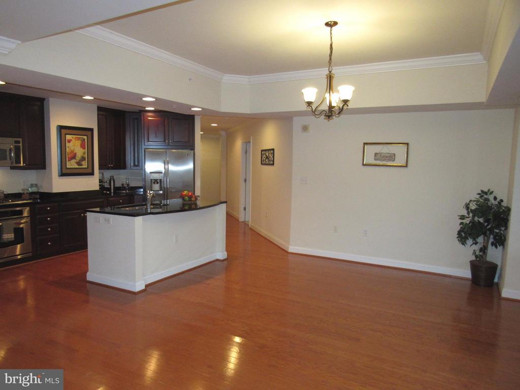 Expansive and open living area - 3625 10TH ST N #803, ARLINGTON