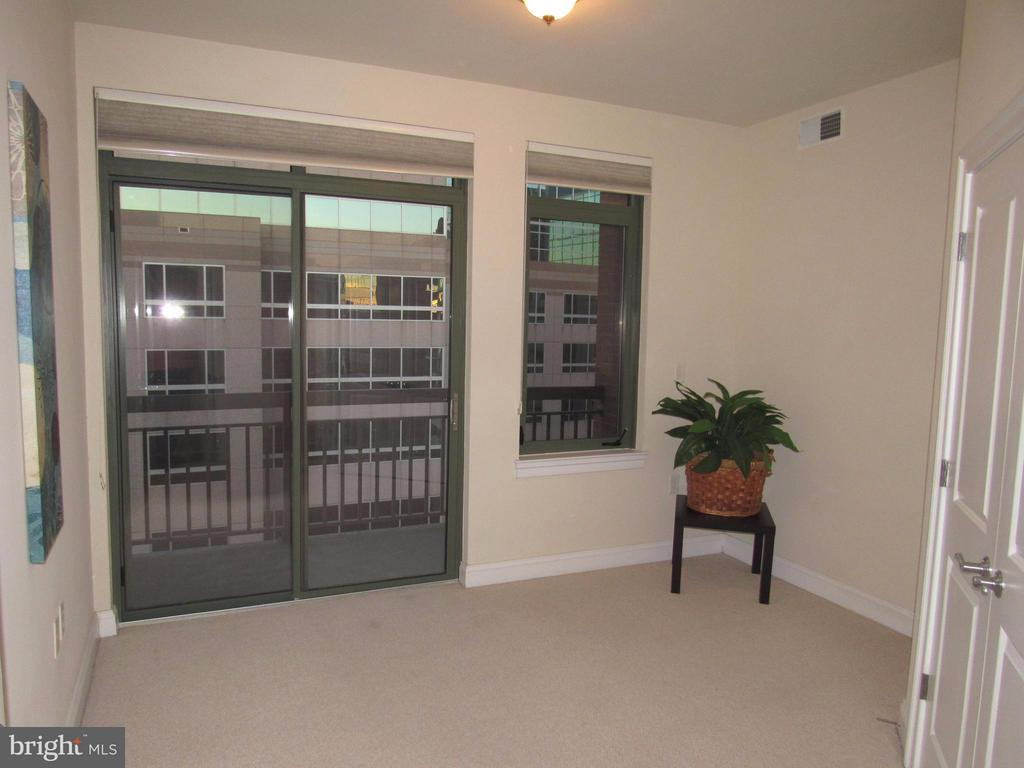 Bedroom #2 is also a master w/balcony - 3625 10TH ST N #803, ARLINGTON