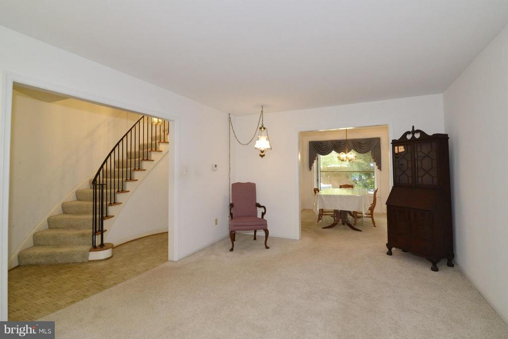 Spacious Living Room - 8511 FORRESTER BLVD, SPRINGFIELD