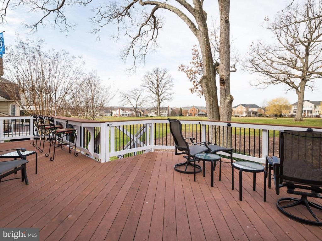 Lovely view of 9th fairway - 19825 BETHPAGE CT, ASHBURN
