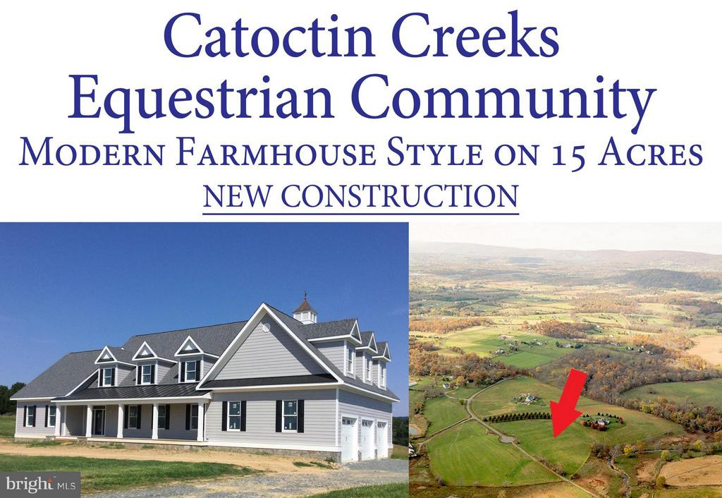 NEW home is gorgeous  - VIEWS are priceless! - 38042 GREENWOOD FARM LN, PURCELLVILLE