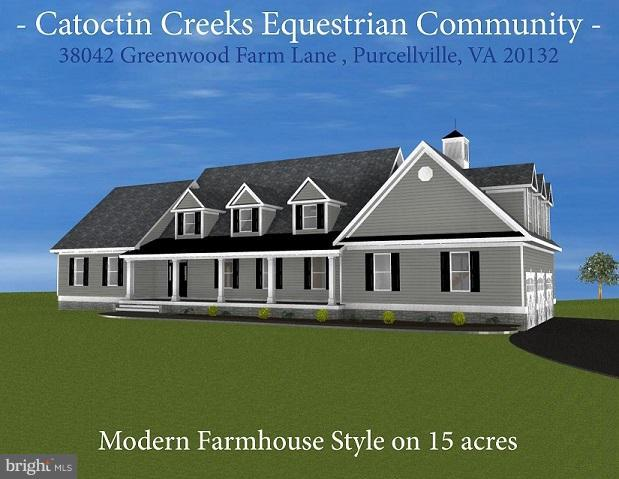 New Construction - Equestrian Community - 15 acres - 38042 GREENWOOD FARM LN, PURCELLVILLE