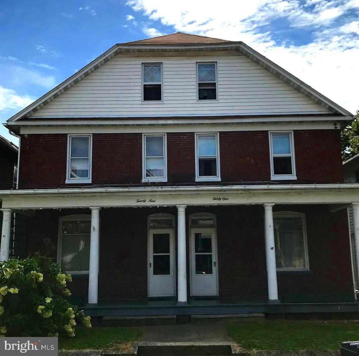 Single Family for Sale at 29-/31 Boone St Cumberland, Maryland 21502 United States