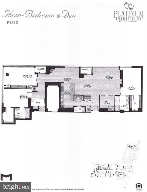 FloorPlan - 2001 15TH ST N #1612, ARLINGTON