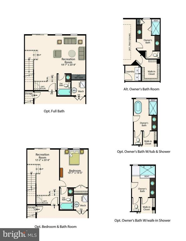 Optional Configurations - 9537 BURKE LAKE RD #3, BURKE