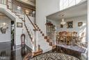 Front Staircase (1) - 7235 CYPRESS HILL DR, GAITHERSBURG
