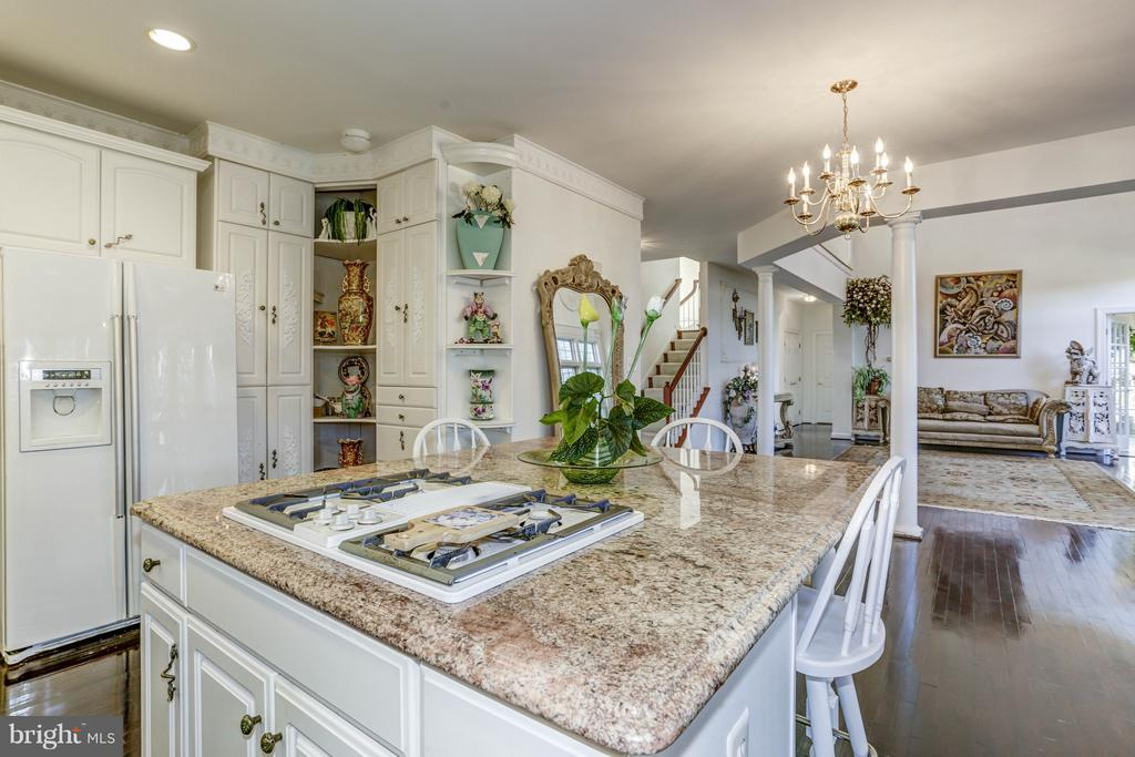 Kitchen - 7235 CYPRESS HILL DR, GAITHERSBURG